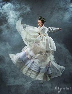 MYWEDDING 하늘하늘 선녀가 춤을 추듯 환상적인 천상의 몸짓