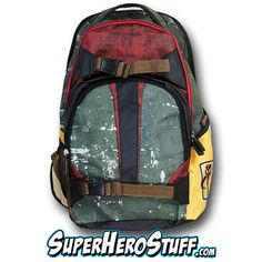 #StarWars Boba Fett Backpack: When you head back to school, are you going to dress to impress?