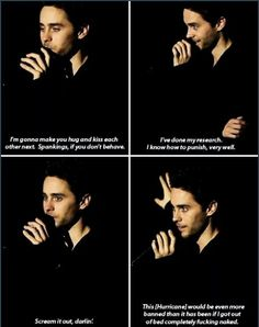 Hurricane with jared leto