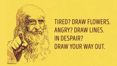 Draw to Decrease Your Stress Levels / Viktoria Nazarevich, art, drawing, art therapy, mind tools