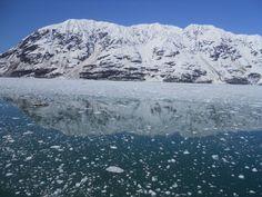 Hubbard glacier pic from our trip Hubbard Glacier, Mount Everest, Mountains, Nature, Travel, Naturaleza, Viajes, Destinations, Traveling