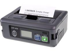 Imprimanta termica mobila DPP 450 BT Datecs are viteza mare de prinatare si poate tipari usor atat text cat si imagini grafice, coduri de bare, logo-uri, in functie de necesitatile utilizatorului. Compact, Bluetooth, Bar, Electronics, Mobile Printer, Consumer Electronics