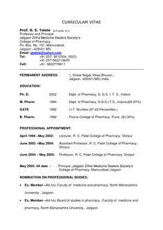 Pharmacy Tech Resume Samples Sample Resumes Sample