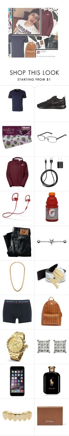 """""""Stayed smokin' at like yay high, now all I do is stay high Kush relieve a muthafucka stuck, yeah, that's that Bay high"""" by organizedthreat ❤ liked on Polyvore featuring NIKE, David Yurman, The North Face, INC International Concepts, PhunkeeTree, Chapstick, True Religion, Claude Montana, MCM and Tommy Hilfiger"""