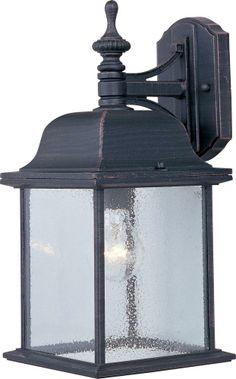"One Light Rust Patina Seedy Glass Wall Lantern (6 pack) : 3F8X | Hansen Lighting. $61.80. Rust. 15""x7""."