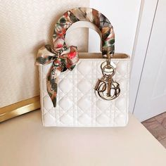 Another beautiful Lady Dior bag . Dior Handbags, Cute Handbags, Purses And Handbags, Replica Handbags, Dior Bags, Chanel Backpack, Chanel Purse, Chanel Bags, Lady Dior