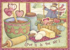 Snowman Baking (Lisa Blowers)