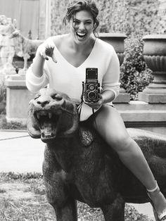 Ashley Graham - Harper's Bazaar UK - Alexi Lubomirski