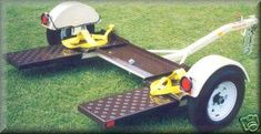 Plans to build a Tow Dolly very