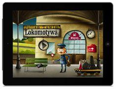 Lokomotywa Juliana Tuwima dla iPhone'a i iPada. Games For Kids, Broadway Shows, Rabbit, Ipad, Iphone, Big, Google, Games For Children, Bunny