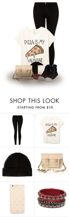 """Pizza"" by abigaillieb ❤ liked on Polyvore featuring Current/Elliott, The Cambridge Satchel Company, Kate Spade, Moschino, women's clothing, women, female, woman, misses and juniors"