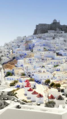 Acho que óculos de sol com lente fotocromática não é o suficiente neste lugar.  Astypalea, Greece