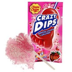Crazy Dips. I haven't seen this since I was little!!! I want some now....