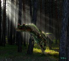 Ceratosaurus nasicornis by Plioart.deviantart.com on @DeviantArt