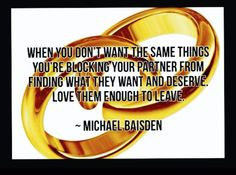 I Love You Enough To Leave, By Michael Baisden