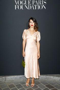 Silk Satin Dress, Satin Dresses, Rouje Jeanne Damas, Vogue Paris, Emily Ratajkowski, Louise Damas, Dama Dresses, Style Parisienne, Photo Portrait