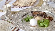 """One of the most widely observed Jewish holidays, Passover commemorates the story of the ancient Israelites' deliverance from slavery in Egypt -- items on this """"seder plate"""" showcase symbolic foods related to the story. Passover Desserts, Passover Recipes, Happy Passover Images, Passover Greetings, Passover Story, Kosher Recipes, Kosher Food, Easter, Spices"""