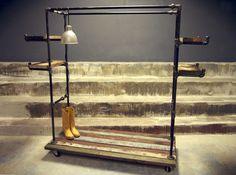 pop-up carts garment racks | BIG BERTHA INDUSTRIAL GARMENT RACK