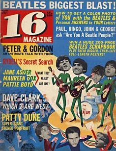 Cover of 16 Magazine - the-60s Photo The Beatles