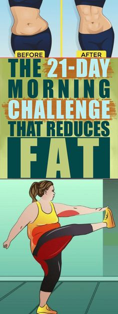 Morning Challenge That Reduces Fat - The Genuine Way The Morning Challenge That Reduces Fat - The Genuine Way.The Morning Challenge That Reduces Fat - The Genuine Way. Fitness Workouts, 30 Day Fitness, Fitness Tips, Blink Fitness, Fitness Journal, Fat Workout, 21 Day Workout, Kickboxing Fitness, Fitness Routines
