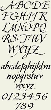 Best Ideas for tattoo fonts cursive alphabet style hand lettering Best Ideas for tattoo font Alphabet Style, Cursive Alphabet, Hand Lettering Alphabet, Typography Letters, Letter Fonts, Graffiti Alphabet, Best Tattoo Fonts, Tattoo Fonts Cursive, Calligraphy Fonts