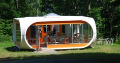 "Matti Suuronen. ""Futuro House"" Hatteras Island North Carolina, 1968"