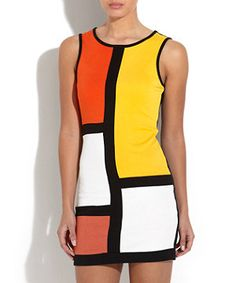 AX Paris Multi Colour Shift Dress from New Look