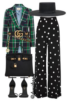 """Untitled #254"" by thedemidorsey ❤ liked on Polyvore featuring Gucci, Monse, Chanel, Yves Saint Laurent and Hermès"