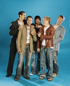 Backstreet Boys together again <3