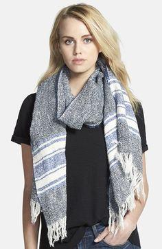 rag & bone Blanket Stripe Scarf available at #Nordstrom