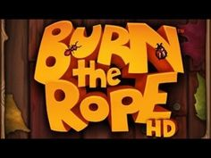 Burn the Rope is a challenging game where you try to burn as much rope as you can in each level. There's a catch! The fire only burns upwards, leaving you to rotate the puzzle to keep your flame alive!   More MAC STORE games playlist - http://www.youtube.com/playlist?list=PL8wZKON07iXVgFlTkw8Xi7U04k5W_z8Iu  Ask any questions. ♥ Thanks for watching...