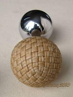 A 360 Face Spherical Covering.           The design of the 360 face spherical covering knots pictured here was the brain child of Norbert T...