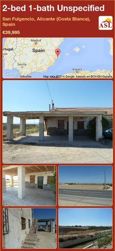 2-bed 1-bath Unspecified in San Fulgencio, Alicante (Costa Blanca), Spain ►€39,995 #PropertyForSaleInSpain