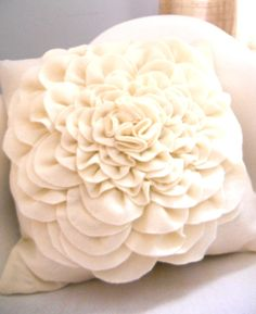 A soft and sweet place to lay your head. #vanilla #fluffy #pillow
