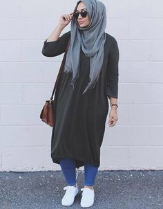 :) Casual Hijab Outfit, My Outfit, We Wear, How To Wear, Hijab Fashion, Lifestyle, My Style, Hijab Styles, Instagram Posts