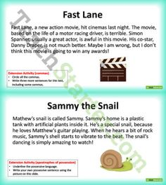 free dictation passages for grade 5