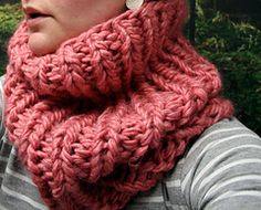 Ravelry: Quick Cowl pattern by Anna & Heidi Pickles