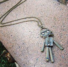 Mr Roboto by SixDesignsJewelry on Etsy