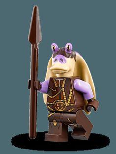 LEGO Star Wars Captain Tarpals Minfigure