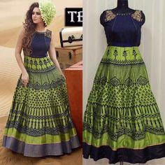 SFH Designer Indian Gown Party wear Festival Dress Women Anarkali TB-73