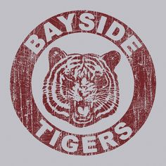 Bayside Tigers T-Shirt Made with a premium per-shrunk Ultra cotton t-shirt. Ultra cotton is the industries new standard among t-shirts Swim Team Shirts, Geek Shirts, Boss Shirts, Sports Shirts, School Spirit Shirts, School Shirts, Teacher Shirts, School Tshirt Designs, Chicago Bears T Shirts