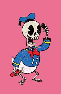 Donald Death Art Print