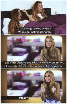 favourite from this week's episode!  @VickyGShore #VickyQuotes