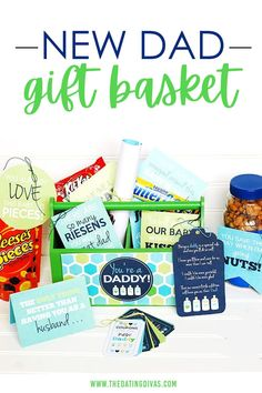 """Gift Idea for a New Father- """"You're a Daddy!"""" Gift Basket"""