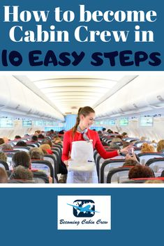 Learn how to become Cabin Crew in 10 easy steps in this helpful post. Handy for anybody looking for a career as Cabin Crew. Become A Flight Attendant, Flight Attendant Life, Smart Business Attire, Cv Services, Cabin Crew Recruitment, Travel Essentials, Travel Tips, Cabin Crew Jobs, Different Airlines