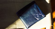 INDIGO RINSE BI-FOLD WALLET   by MAXX & UNICORN  58 of a kind