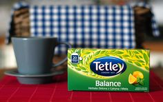 Tetley Balance, herbata zielona z cytryną i mietą - opinia na blogu