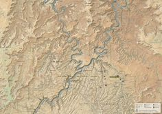 MapCarte 282/365: The Heart of Canyonlands by Tom Patterson, 2014 | Commission on Map Design