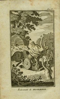 Ovid Illustrated: the Reception of Ovid's Metamorphoses in Image and Text--Univ. of Virginia Electronic Text Center. Pluto abducts Persephone