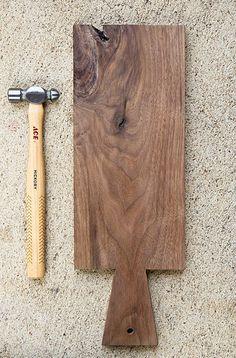 DIY Wooden Serving Board